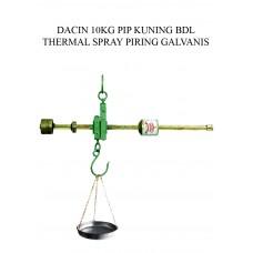 TIMBANGAN DACIN 10 KG PIP KUNING BDL THERMAL SPRAY PRG GALVANIS