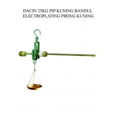 TIMBANGAN DACIN 25 KG PIP KUNING  BDL ELECTROPLATING PRG KUNING