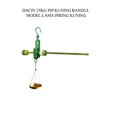 TIMBANGAN DACIN 25 KG PIP KUNING BDL MODEL LAMA PIRING KUNING