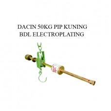 TIMBANGAN DACIN 50 KG PIP KUNING BDL ELECTROPLATING