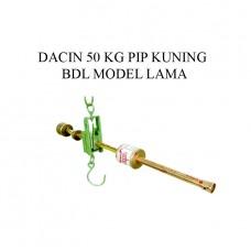 TIMBANGAN DACIN 50 KG PIP KUNING BDL MODEL LAMA