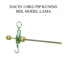 TIMBANGAN DACIN 110 KG PIP KUNING BDL MODEL LAMA