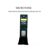 MICROTOISE PENGUKUR TINGGI BADAN DEWASA MT-701