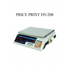 PRICING PRINTING SCALE DY-208