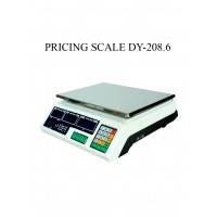 PRICING SCALE DY-208.6