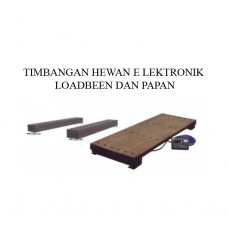 TIMBANGAN HEWAN ELEKTRONIK LOADBEAM & PAPAN