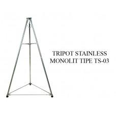 TRIPOT STAINLESS STEEL MONOLIT TIPE TS-03